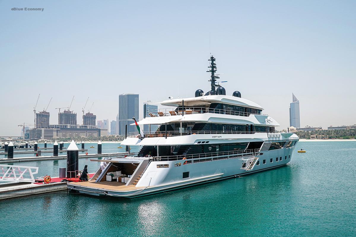 منصور بن محمد يدشن اليخت «ماجستي 175» الأكبر من نوعه في العالم
