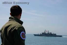 eBlue_econm_USCGC Hamilton conducts operations with Turkish navy