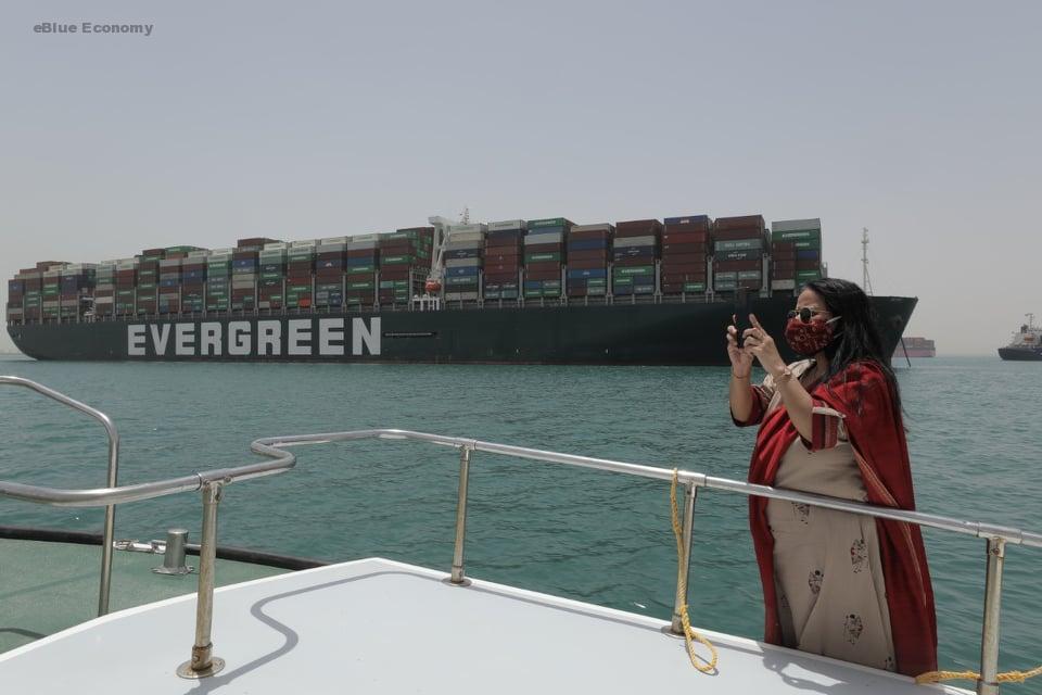 eBlue_economy_ بعد السماح للوفد بتفقد أحوال طاقم السفينة EVER GIVEN ربيع يلتقي وفدا دبلوماسيا برئاسة القنصل الهندي في مصر