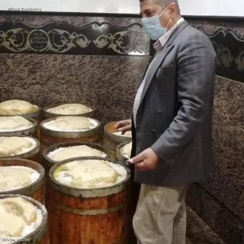 eBlue_economy_ قبيل الاحتفال بشم النسيم غدا مصر تضبط اطنانا من السمك الفاسد