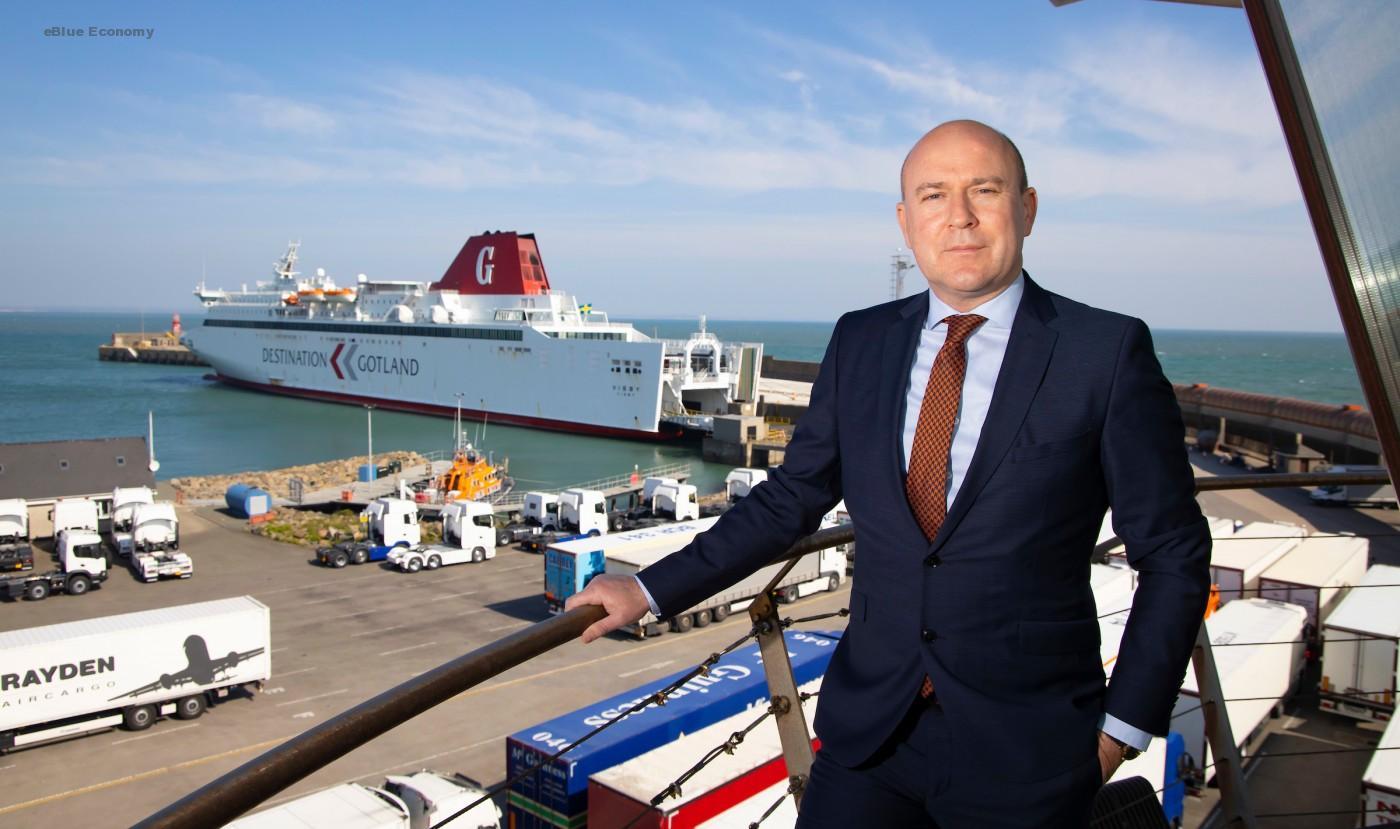 eBlue_economy_Glenn Carr, General Manager of Rosslare Europort