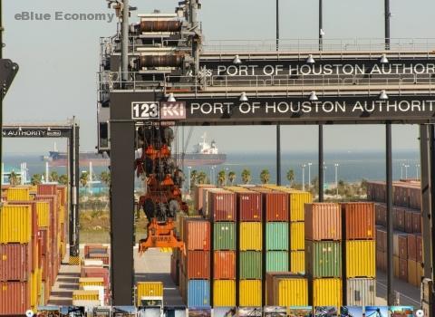 eBlue_economy_Port Houston posts largest monthly container volume