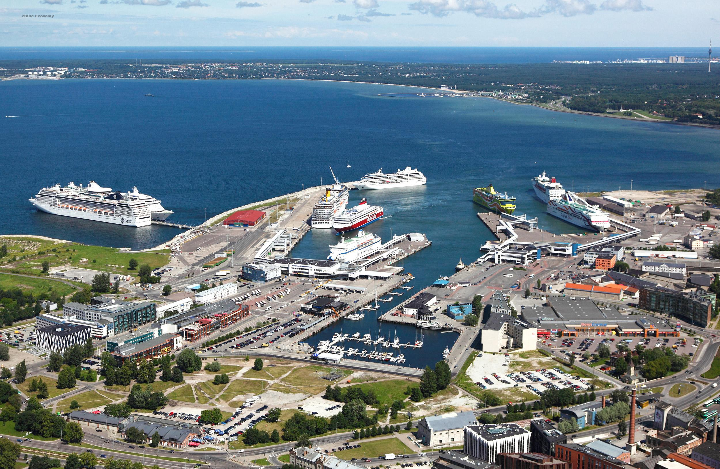 eBlue_economy_Port of Tallinn fortified environmental measures in operating areas