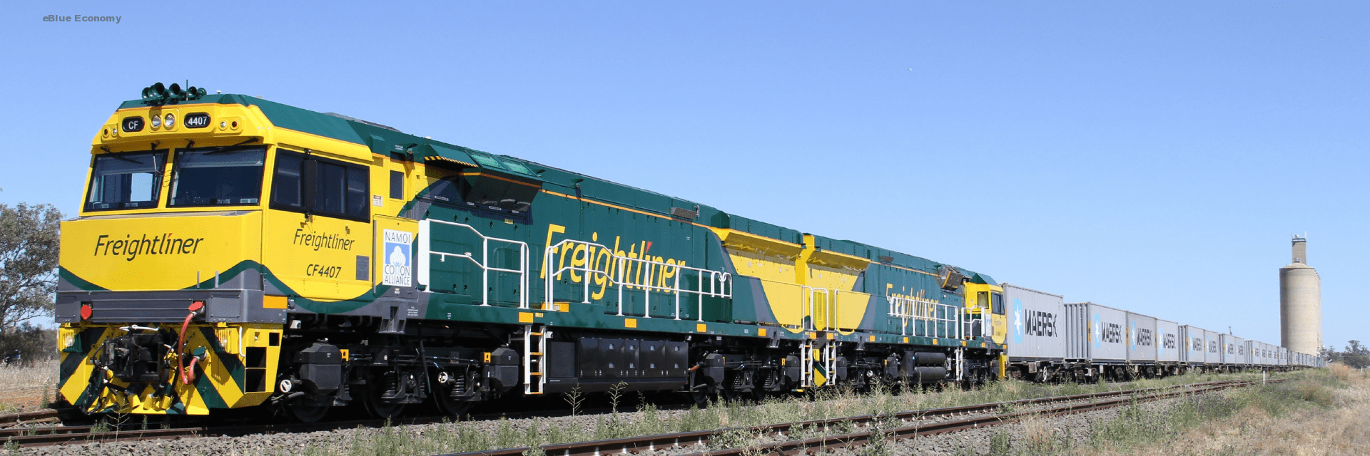 eblue_economy_PD Ports boosts Scottish rail freight service to support customer demand