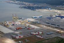 eBlue_-economy_Port of Ust-Lug