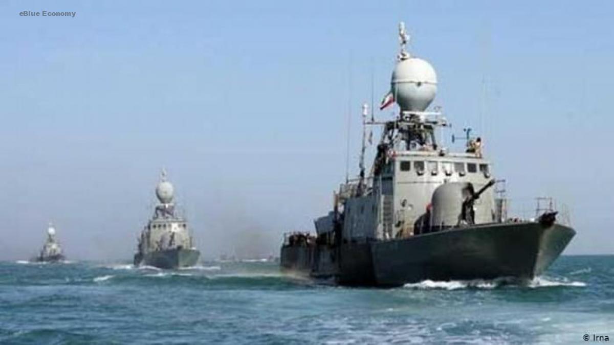 eBlue_economy_سفينتان حربيتان إيرانيتان