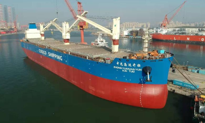 eBlue_economy_COSCO Confirms Thordon Seawater Lubrication for Eight Newbuild General Cargo Ship
