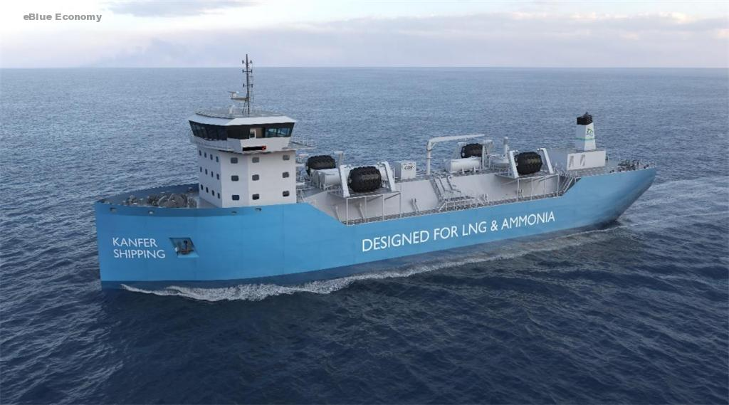 eBlue_economy_Oceania Marine Energy and Kanfer Shipping sign Letter of Intent for world's first ammonia