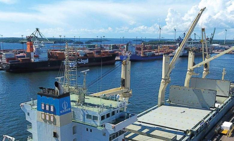 eBlue_economy_Port of HaminaKotka throughput in 5M'20201 fell by 3.6% YoY2