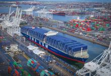 eBlue_economy_Port of Los Angeles rolls out hydrogen fuel cell electric freight demonstration