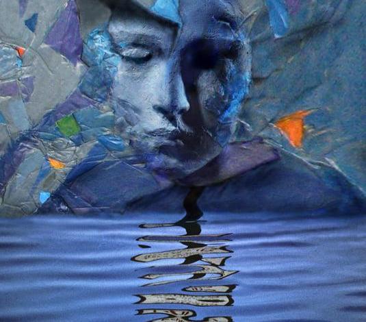 eBlue_econonomy_لوحة للفنان العراقى العالمى idhe.H.Ridhe