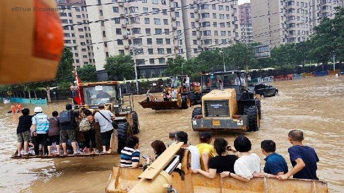 eBlue_economy_الصين تأمر سفن الشحن بالخروج من المنطقة تزامنا مع اقتراب اعصار ان-فا !