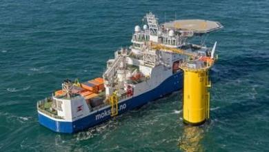 eBlue_economy_DEME Offshore successfully installs DolWin6 HVDC cable with 'Living Stone' operating on LNG