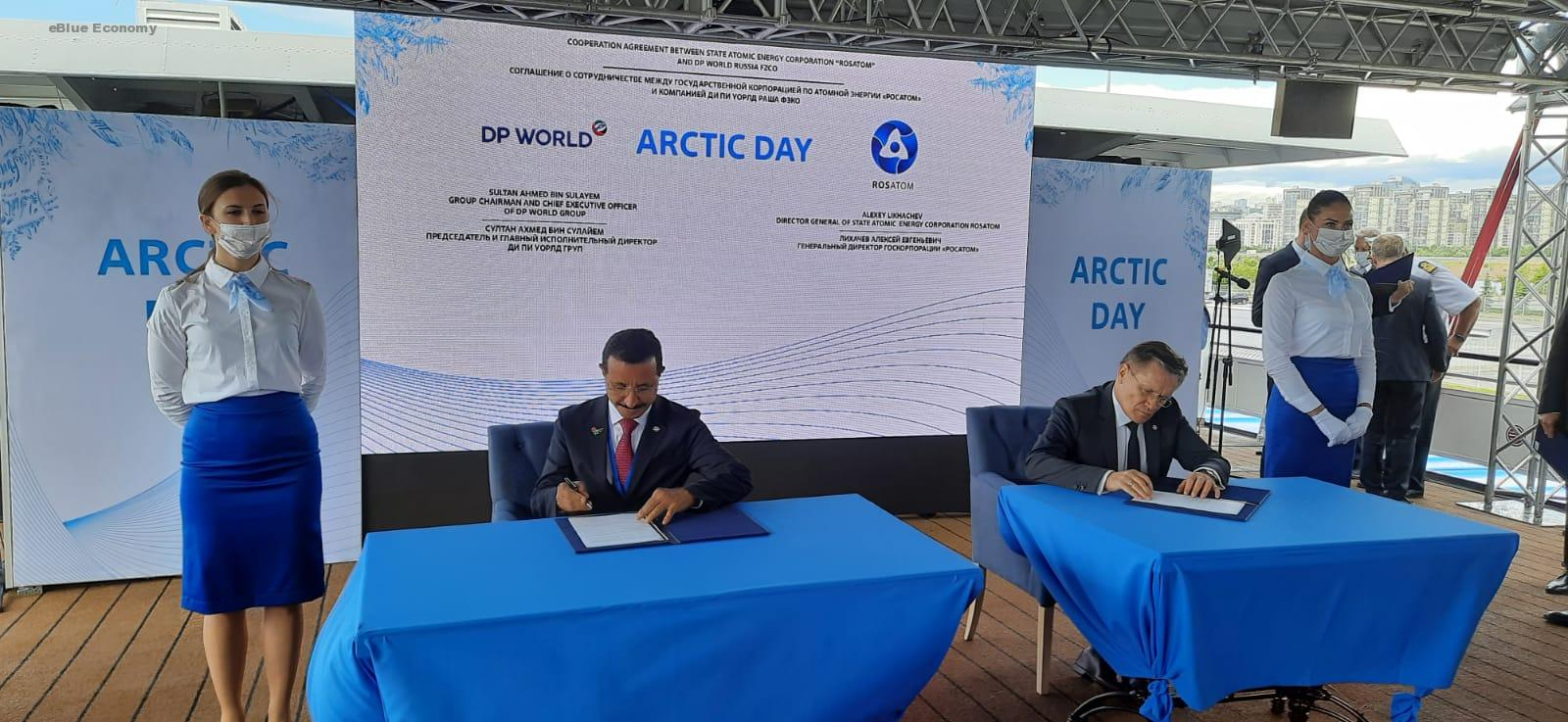 eBlue_economy_DP Signs Agreement on Northern Sea Route