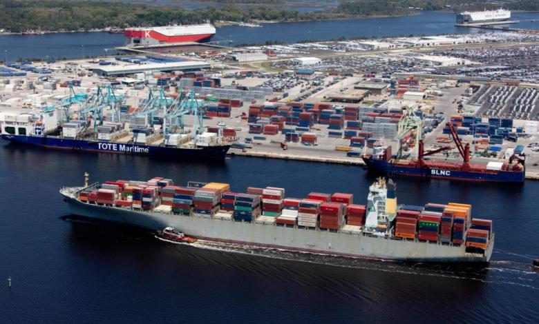 eBlue_economy_JAXPORT sets port record for container volumes in May