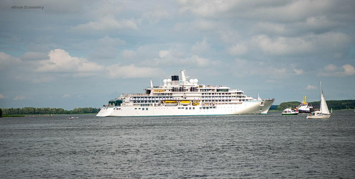 eBlue_economy_Luxury Expedition Yacht Crystal Endeavor Departs Stralsund, Germany And Sails to Iceland for Inaugural Voyages