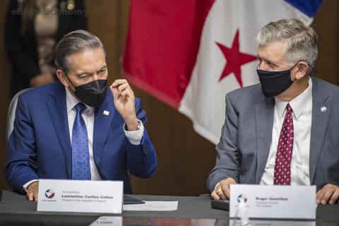 eBlue_economy_Panama President Makes Historic Visit to Port Houston