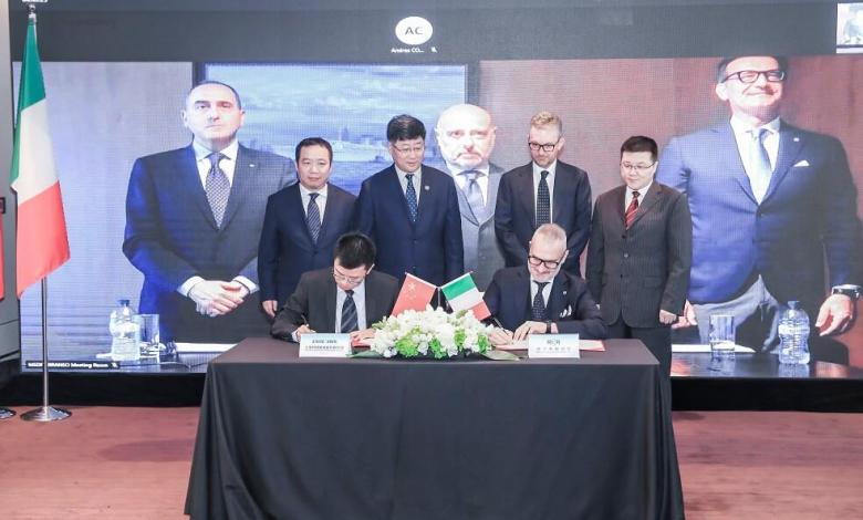 eBlue_economy_RINA signed an agreement with SWS for the classification of the largest ever cruise ship to be built in China