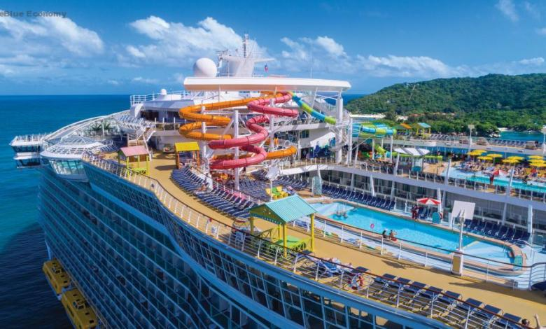 eBlue_economy_Oasis of the Seas Overview B-roll for Royal Caribbean Cruise