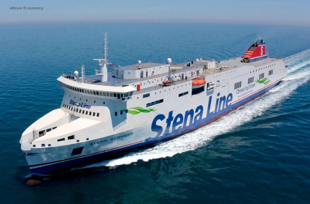 eBlue_economy_Stena Line's new ferry Stena Scandica сompletes its maiden voyage