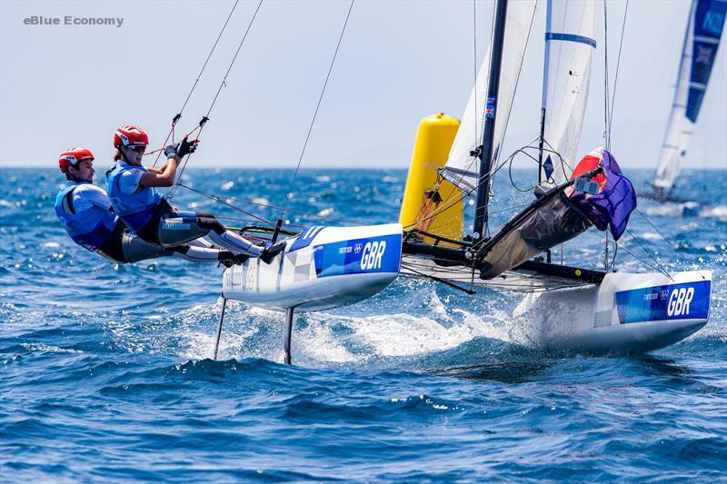 eBlue_economy_Two more medals secured for Team GB sailors - but colour yet to be decided