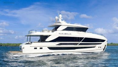 eBlue_economy_ New FD80 Skyline by Horizon Yachts during construction to a first-time yacht owner.