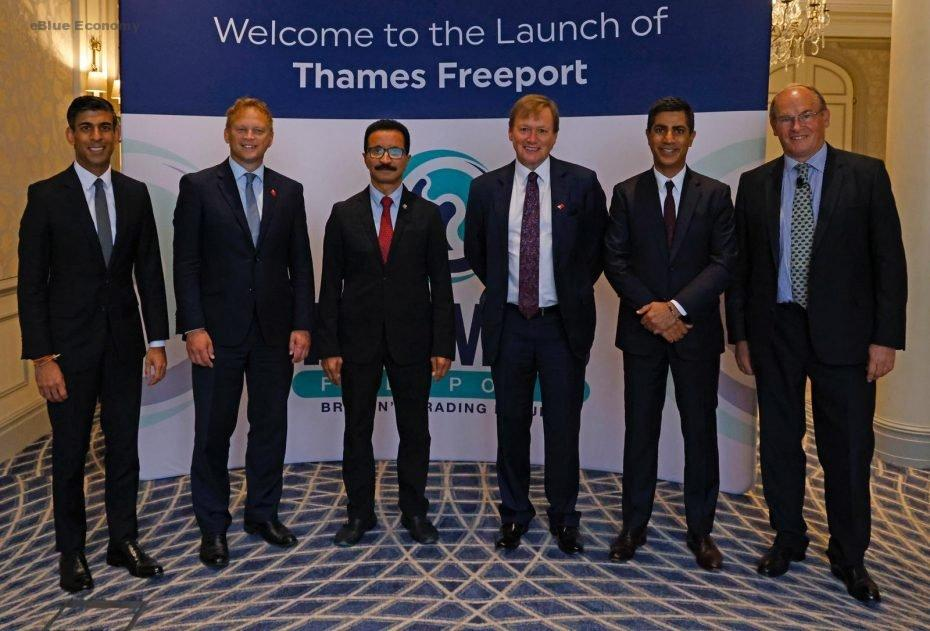 eBlue_economy_DP World to invest £300m in new fourth berth at London Gateway logistics hub