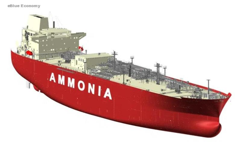 eBlue_economy_HHI & KSOE receive Approval in Principle for ammonia carrier with ammonia fuel propulsion