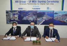 eBlue_economy_LR, HHI and KSOE sign MoU to develop digital twin technology for an LNG carrier