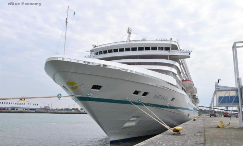 eBlue_economy_MS Artania symbol for the future of cruises in Zeebrugge