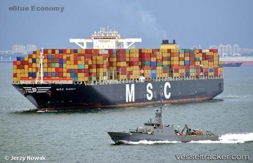 eBlue_economy_US Coast Guard investigates MSC Danit in Huntington oil spill case