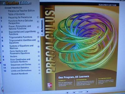 Ebluejay Glencoe Precalculus Teacher S Edition On Cd Rom