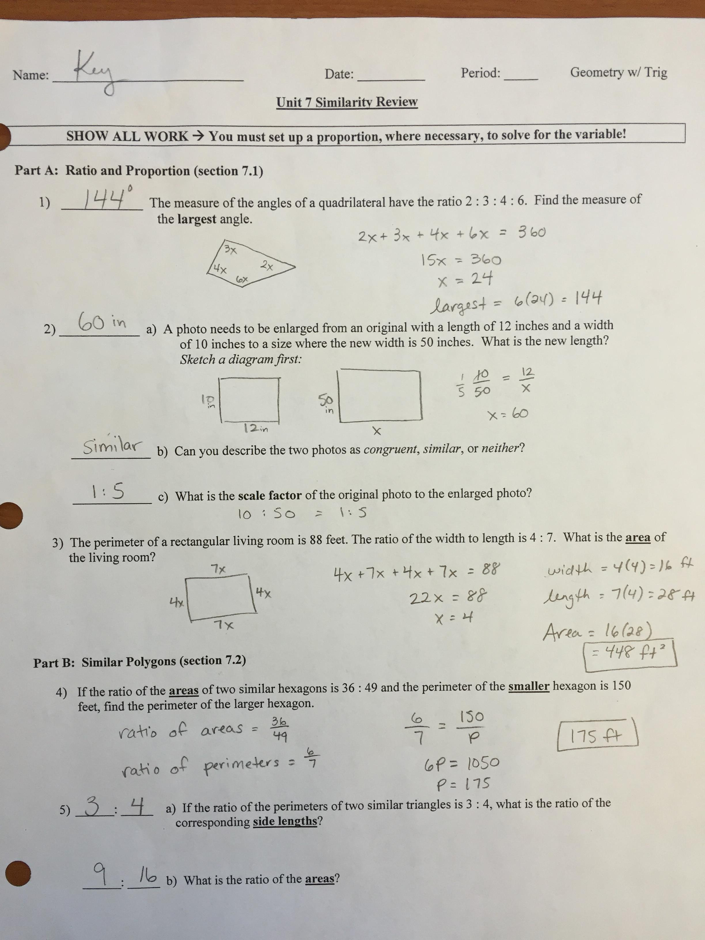 Geometry Worksheet Kites And T Zoids