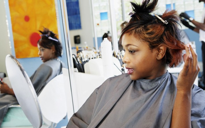 colour app gets your 'do done at home, on demand - ebony