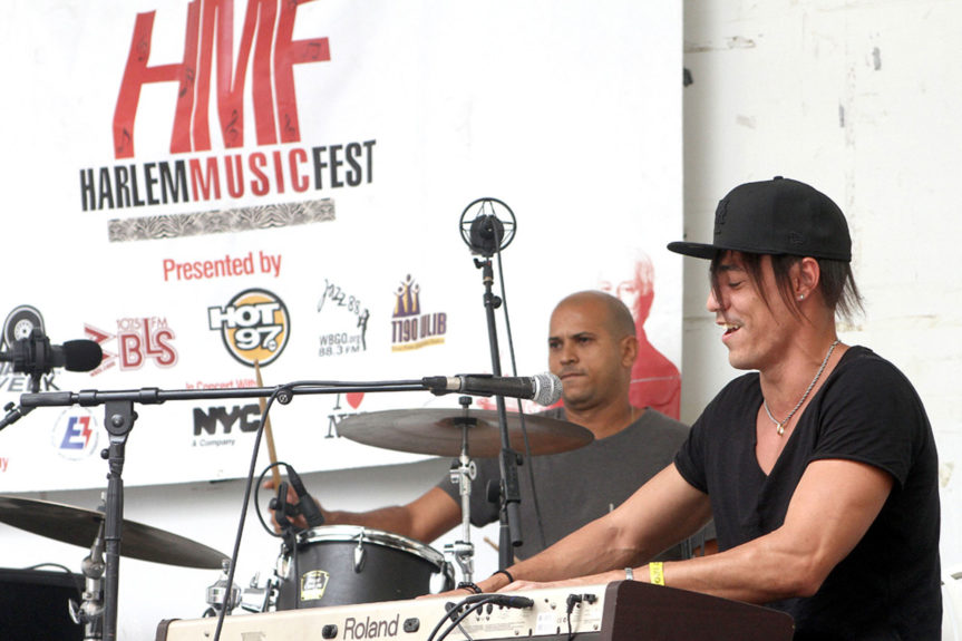 Cuban jazz pianist Jorge Luis Pacheco performs at the Harlem/Havana Music and Cultural Festival (Photo: Hakim Mutlaq)