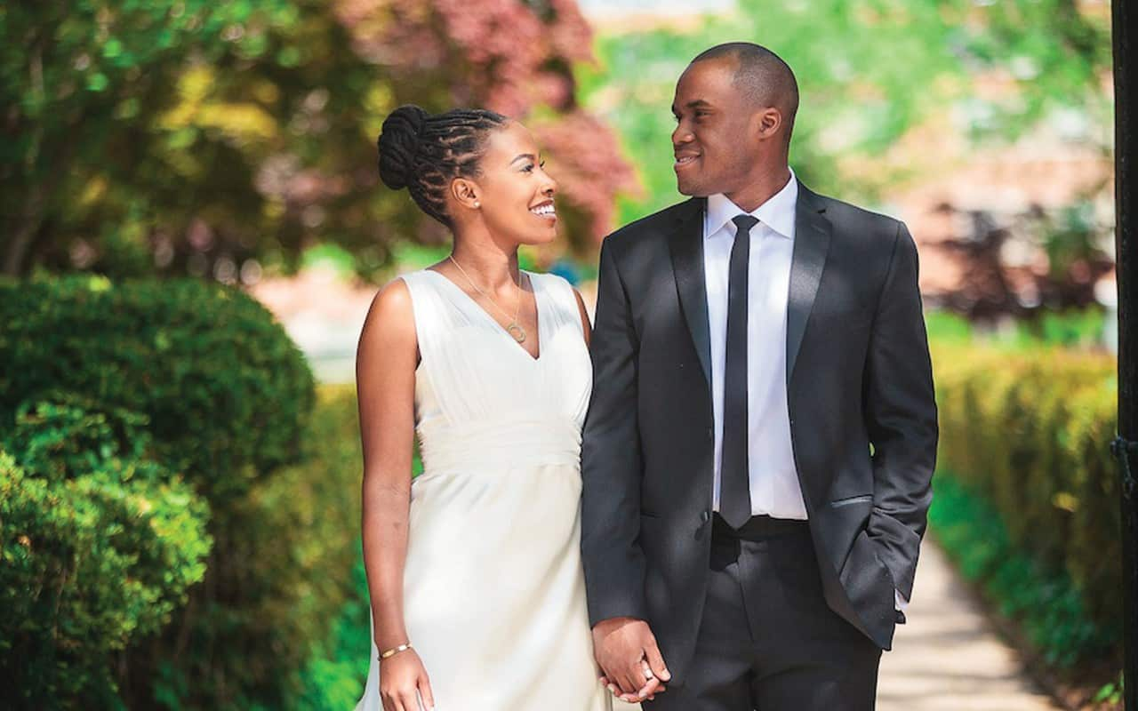 BLACK WEDDING STYLE One Beautiful Couple Weds At Their