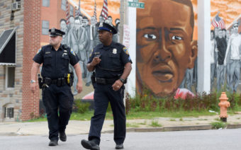 Mural of Freddie Gray