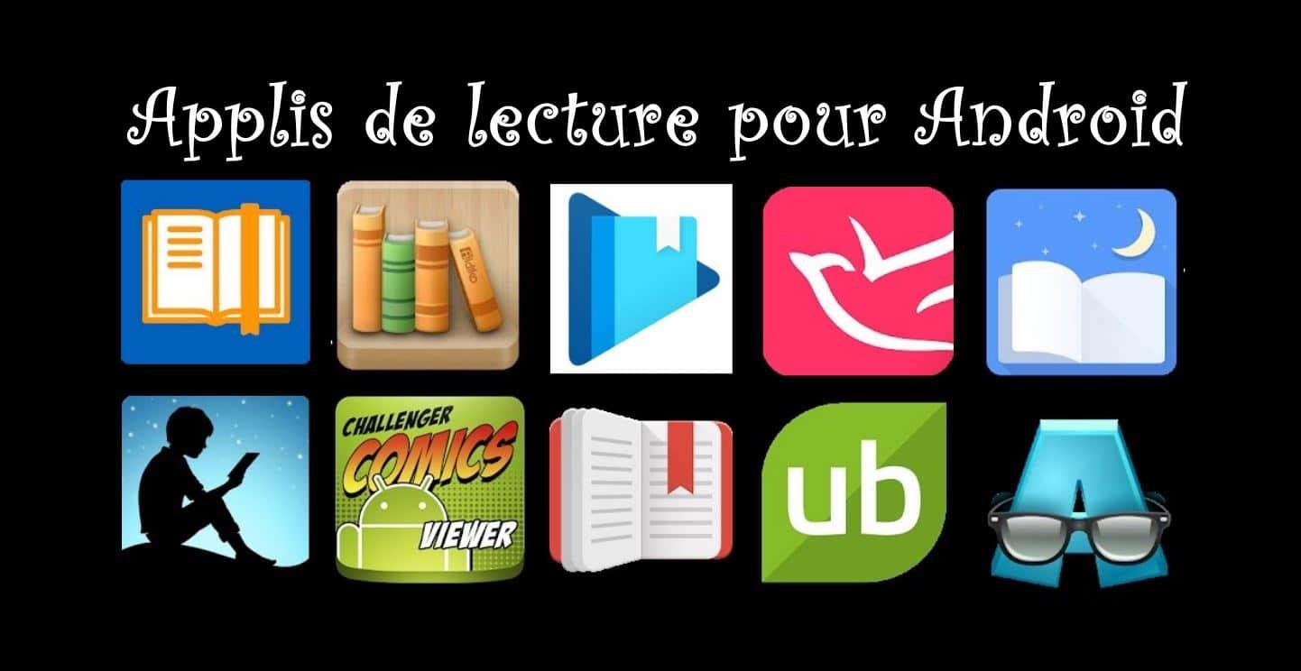 10 applications pour lire des ebooks (livrels) sur les tablettes Android