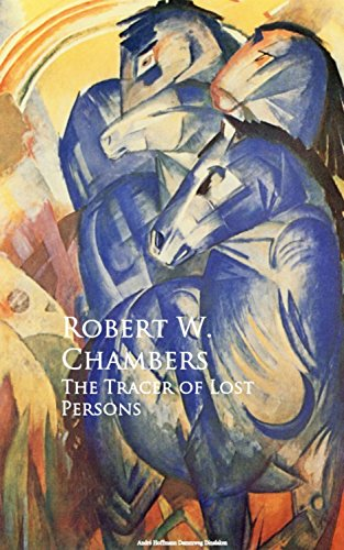 Large book cover: The Tracer of Lost Persons
