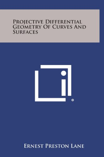 Large book cover: Projective Differential Geometry Of Curves And Surfaces