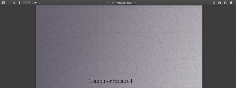 Computer Science I by Dr Chris Bourke