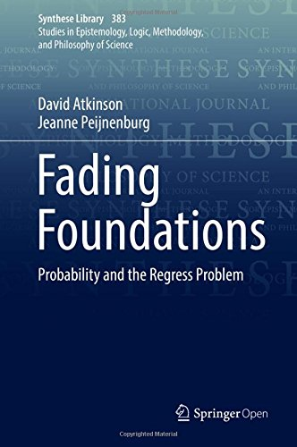 Large book cover: Fading Foundations: Probability and the Regress Problem