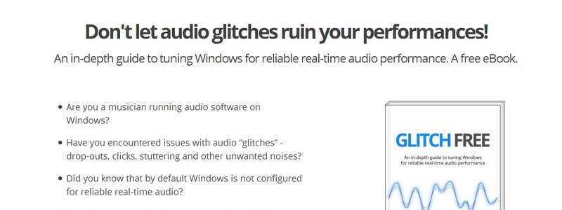 Glitch Free: Tuning Windows for Reliable Real-Time Audio Performance by Brad Robinson