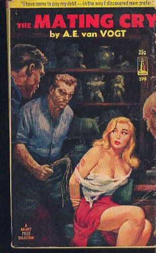 Large book cover: The Mating Cry