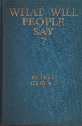 Large book cover: What Will People Say?