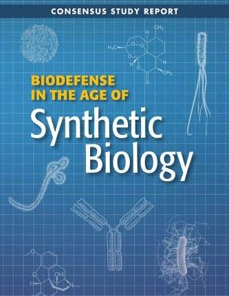 Large book cover: Biodefense in the Age of Synthetic Biology