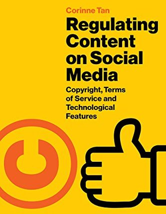 Large book cover: Regulating Content on Social Media