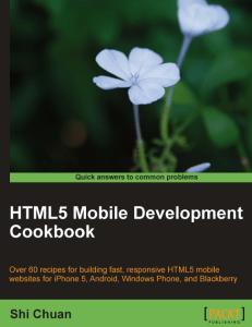 0108260-231x300 HTML5 Mobile Development Cookbook