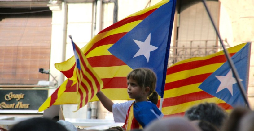 Catalunya day 11 September demonstration