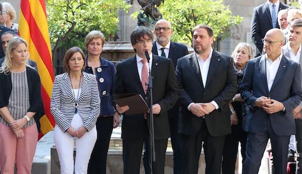 puigdemont announces Catalan independence referendum